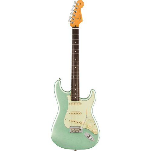 Fender American Professional II Stratocaster, Rosewood, Mystic Surf Green