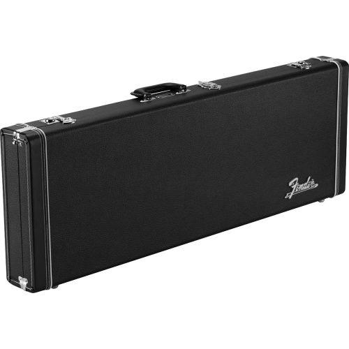 Fender custodia rigida rettangolare Classic Series Wood Case - Strat/Tele, Black
