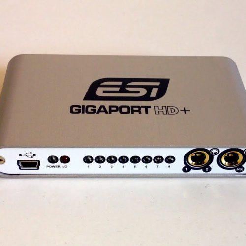 ESI GIGAPORT HD+ SCHEDA AUDIO B-Stock