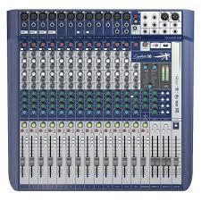 SOUNDCRAFT MIXER SIGNATURE 16 EFX