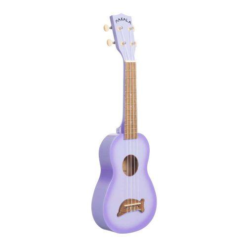 Kala MK-SD/PLBURST - Ukulele soprano Dolphin - Purple Burst - con borsa