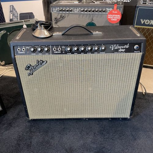 FENDER VIBROVERB 64 MOD BY ZACK ENGINEERING USATO