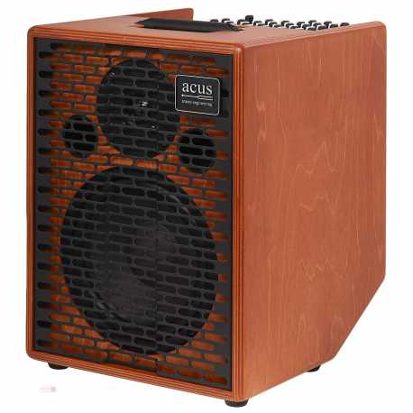 ACUS AMPLIFICATORE ONE FORSTRINGS 8 CUT WOOD