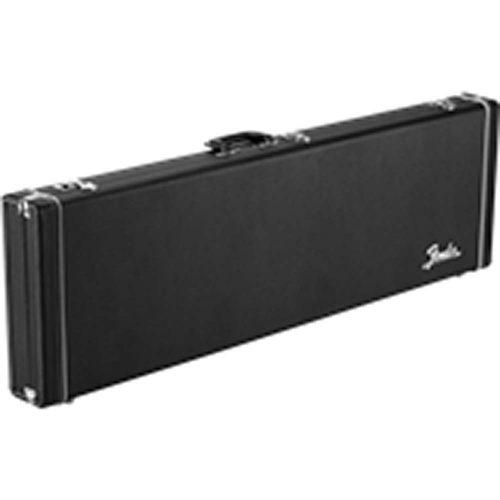 Fender Classic Series Wood Case - Precision Bass/Jazz Bass, Black
