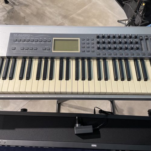 M AUDIO KEYSTATION PRO 88 TASTIERA MIDI 88 TASTI PESATI USATO