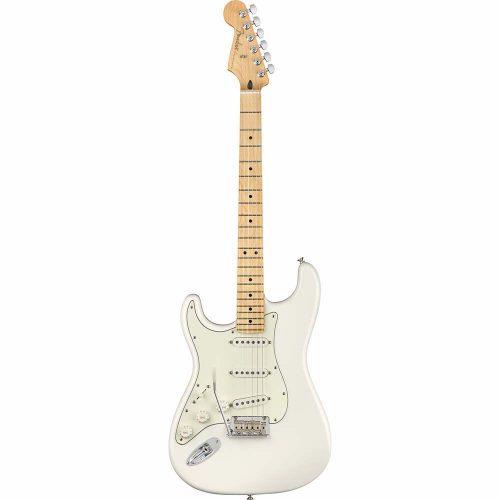 Fender Player Stratocaster® Left-Handed, Maple Fingerboard, Polar White