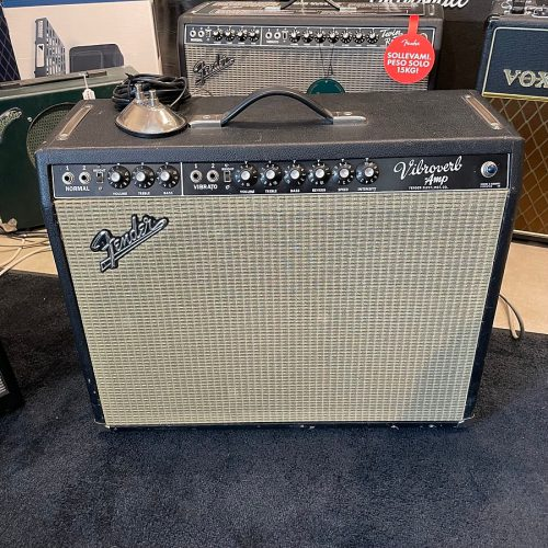 FENDER VIBROVERB 64 MOD BY ZACK ENGINEERING