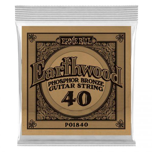 Ernie Ball corda singola 1840 Earthwood Phospor Bronze .040