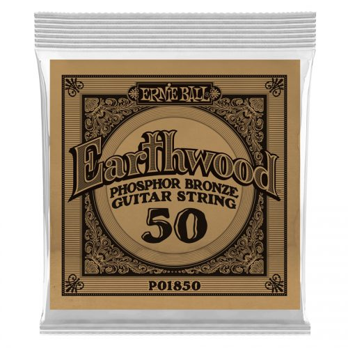 Ernie Ball corda singola 1850 Earthwood Phospor Bronze .050