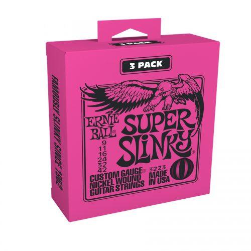 Ernie Ball muta di corde 3223 Nickel Wound Super Slinky 9-42