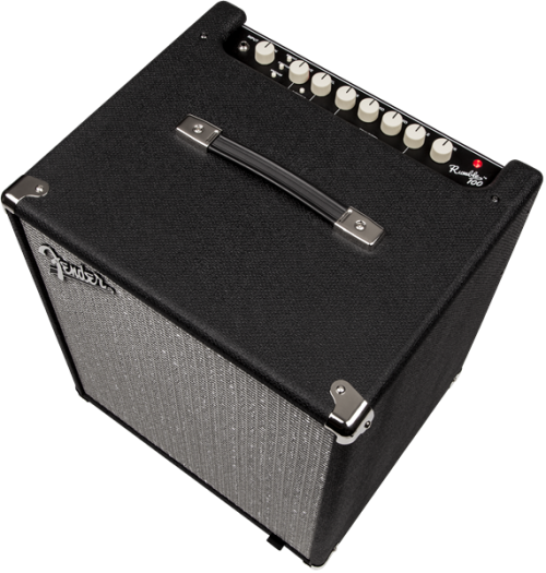 Fender Rumble 100 (V3) Black/Silver - Amplificatore combo per basso
